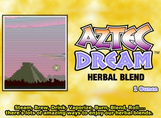 Aztec Dream Herbal Smoke