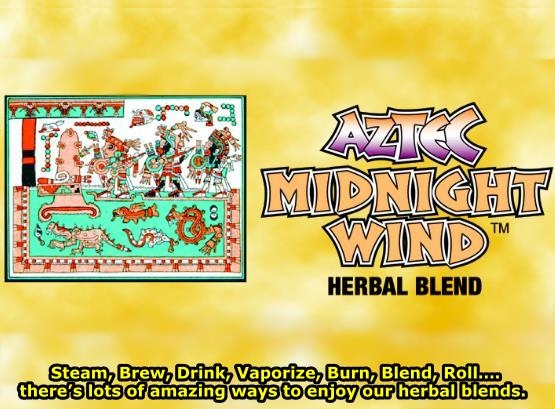 Aztec Midnight Wind Herbal Smoke Blend