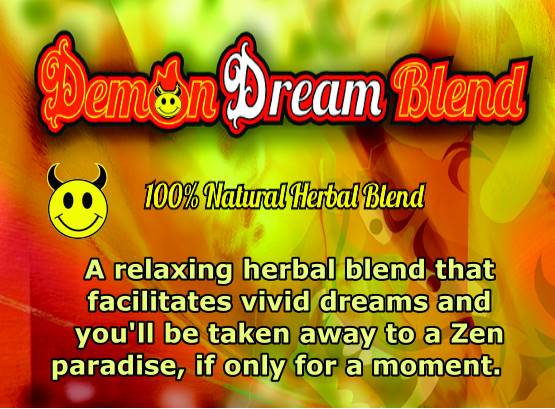 Demon Dream Herbal Smoke Blend