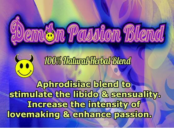 Demon Passion Herbal Smoke Blend