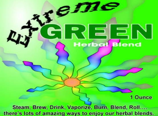 Extreme Green Smoking Blend