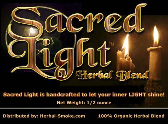 Sacred Light Herbal Smoke Blend