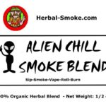 "Alien Chill Herbal Smoke Blend - Just ""Chill Out"" with Alien"