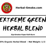 Quit Smoke Herbal Blends - Extreme Green
