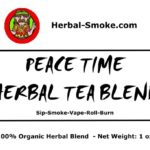 Herbal Tea Blend - Peace Time Herbal Smoke