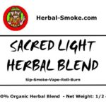 Sacred Light Herbal Smoking Blend